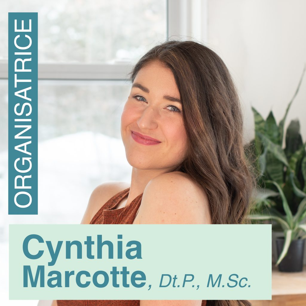 Cynthia Marcotte   Nutritionniste