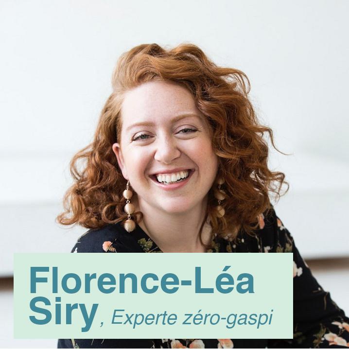 Florence-Léa Siry   Experte zéro-gaspillage