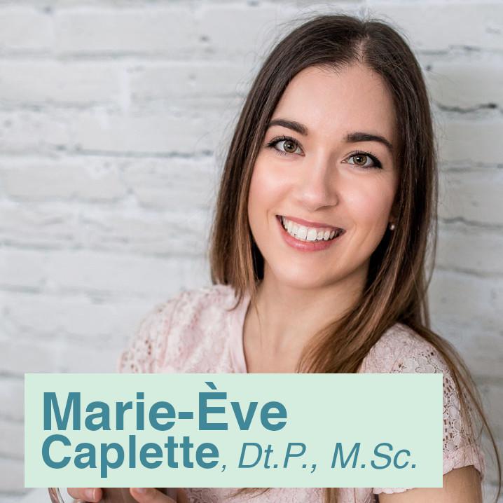 Marie-Ève Caplette   Nutritionniste épicerie et mealprep